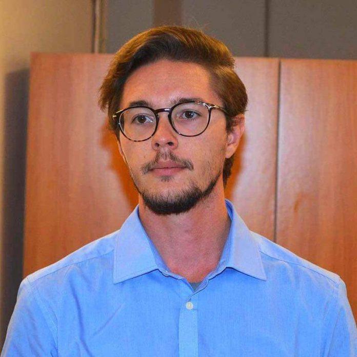 Emanuele Scomparin, segretario del PD Tarquinia